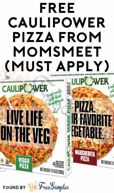 FREE CAULIPOWER Pizza From MomsMeet (Must Apply)