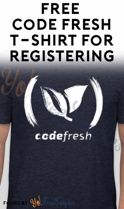 FREE Code Fresh T-Shirt For Registering