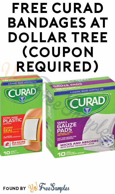 FREE Curad Bandages At Dollar Tree (Coupon Required)