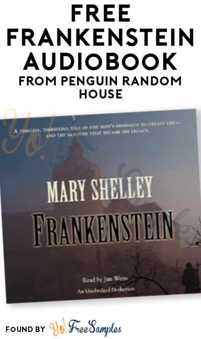 FREE Frankenstein Audiobook From Penguin Random House