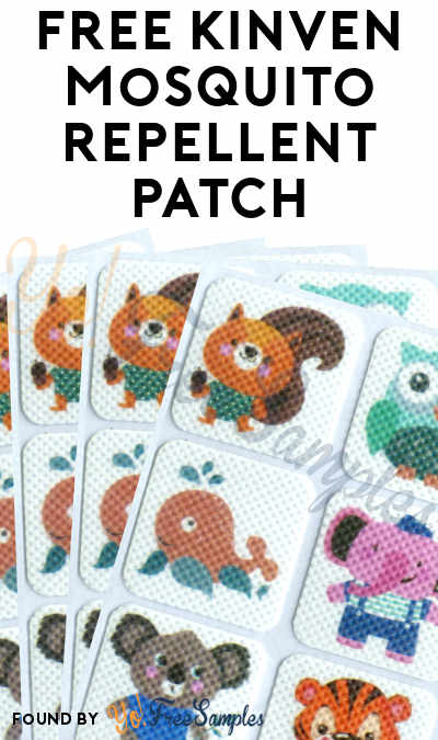 FREE Kinven Mosquito Repellent Patch