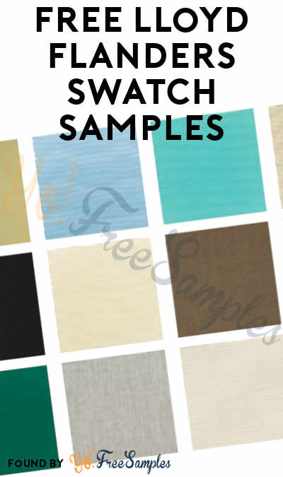 FREE Lloyd Flanders Swatch Samples