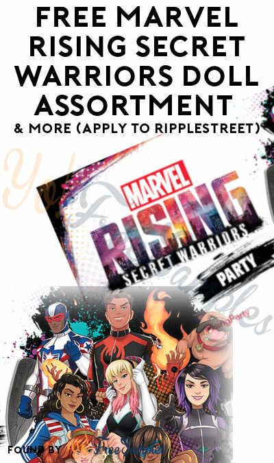 FREE Marvel Rising Secret Warriors Doll Assortment & More (Apply To RippleStreet)