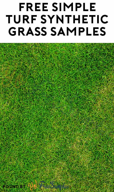 FREE Simple Turf Synthetic Grass Samples