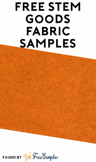 FREE Stem Goods Fabric Samples