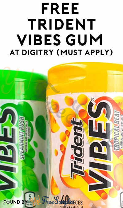 FREE Trident Vibes Flavor Bursting Gum At Digitry (Must Apply)