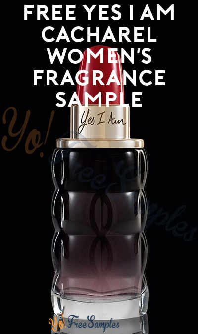 FREE Yes I Am Cacharel Women's Fragrance Sample (Cell Phone Confirmation Required)