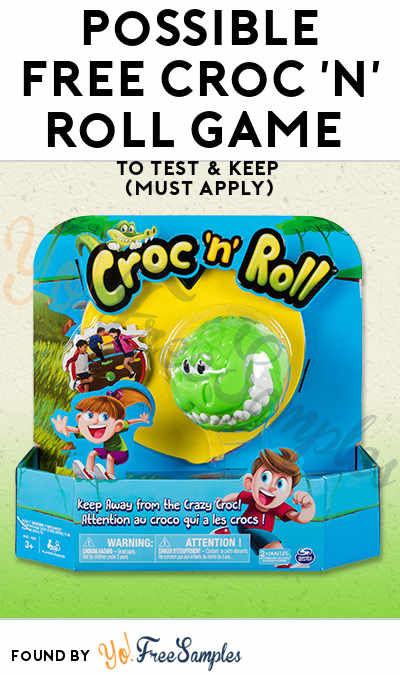 Possible FREE Croc 'n' Roll Game To Test & Keep (Must Apply)