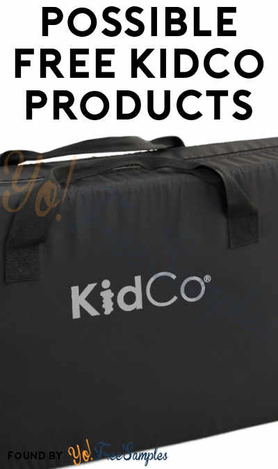 Possible FREE Kidco Products