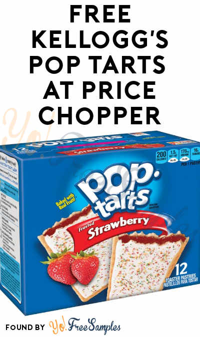 TODAY ONLY: FREE Kellogg's Pop Tarts At Price Chopper