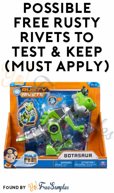 Possible FREE Rusty Rivets To Test & Keep (Must Apply)
