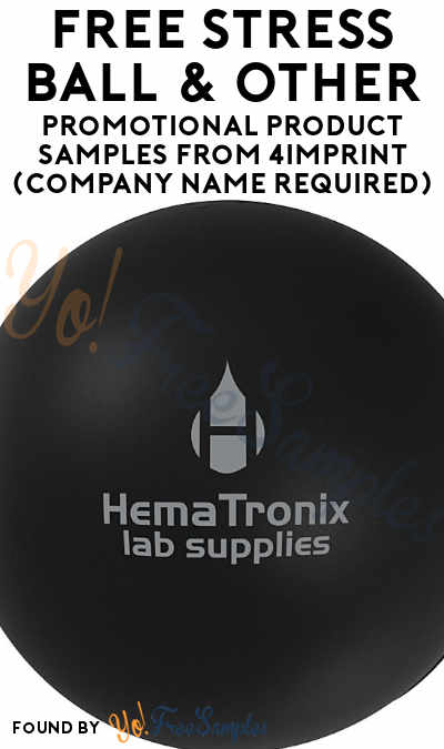 FREE Stress Ball, T-Shirts & Other Promotional Product Samples From 4Imprint (Company Name Required) [Verified Received By Mail]