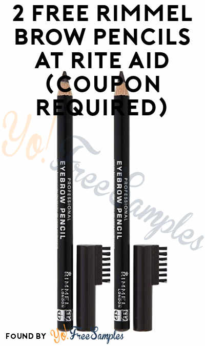 2 FREE Rimmel Brow Pencils + Small Profit At Rite Aid (Coupon Required)