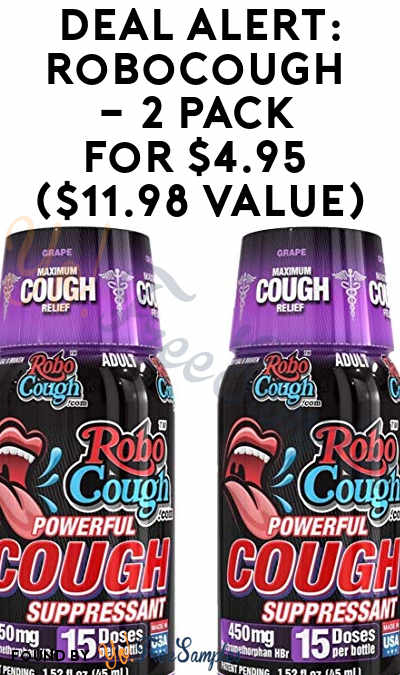 DEAL ALERT: RoboCough – 2 Pack For $4.95 ($11.98 Value)