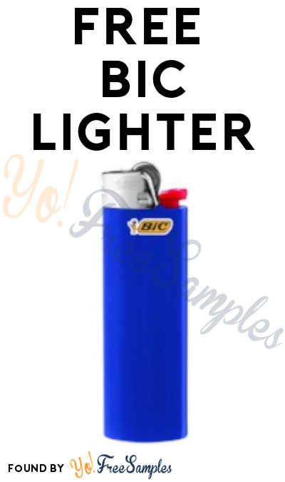 FREE BIC Lighter From ViewPoints (Survey Required)