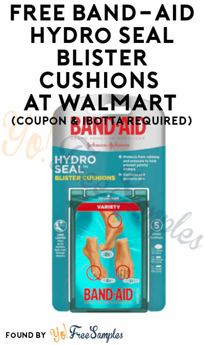 FREE Band-Aid Hydro Seal Blister Cushions At Walmart (Coupon & Ibotta Required)