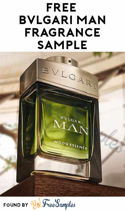 FREE Bvlgari Man Wood Essence Fragrance Sample