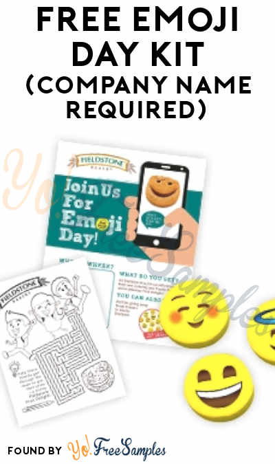 FREE Emoji Day Kit (Company Name Required)