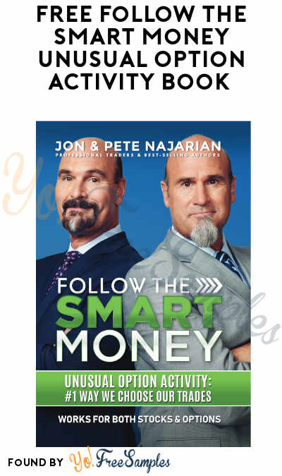 FREE Follow the Smart Money Unusual Option Activity Book