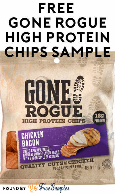 FREE Gone Rogue High Protein Chips Sample