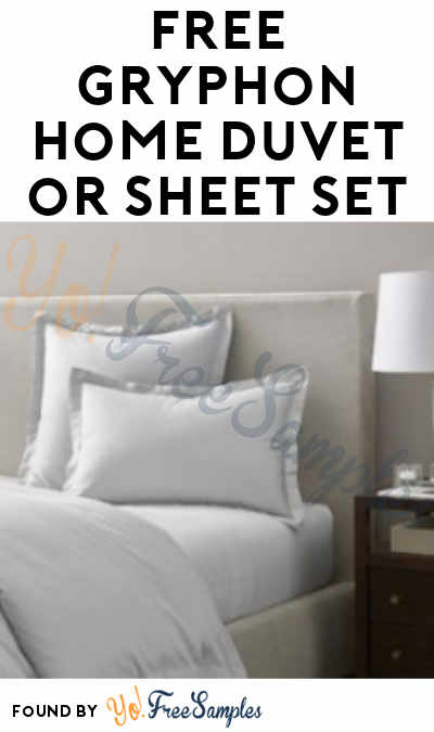 FREE Gryphon Home Duvet or Sheet Set From ViewPoints (Survey Required)