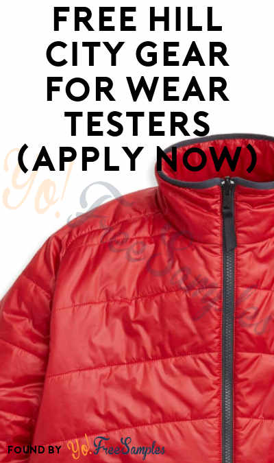 FREE Hill City Gear For Wear Testers (Apply Now)