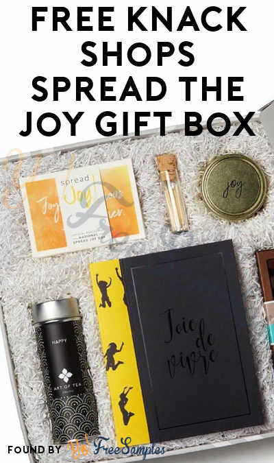FREE Knack Shops Spread The Joy Gift Box