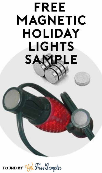 FREE Lite-Netics Magnetic Holiday Lights Sample