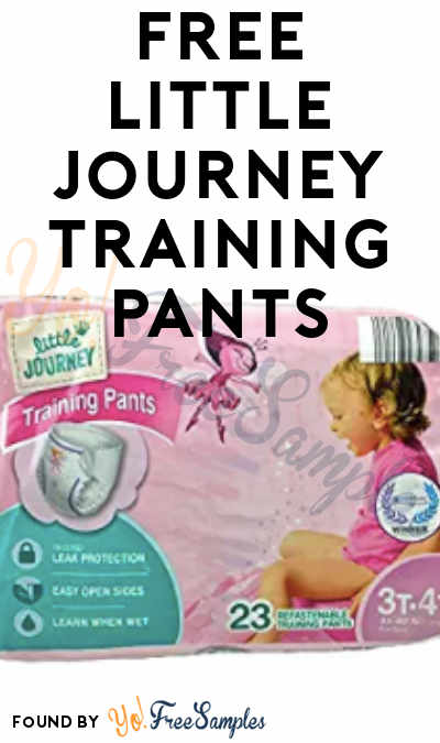 FREE Little Journey Training Pants From ViewPoints (Survey Required)