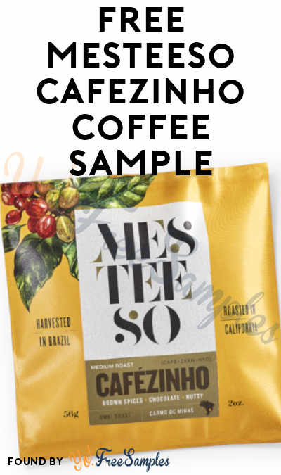 That Was Gone Fast! FREE Mesteeso Brazilian Cafézinho Coffee Sample