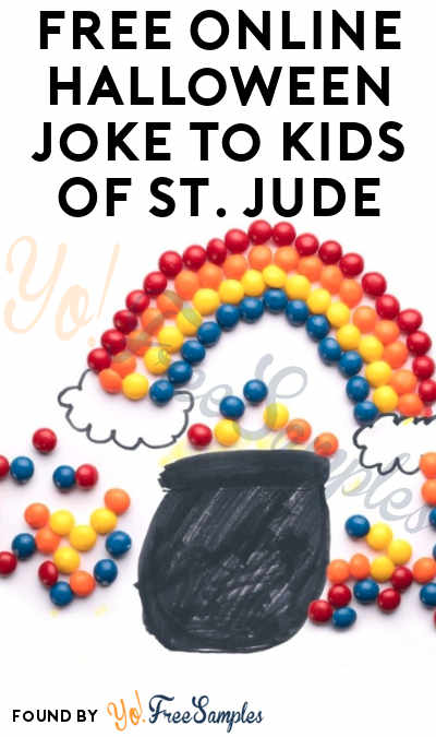 FREE Online Halloween Joke E-Card To Kids Of St. Jude