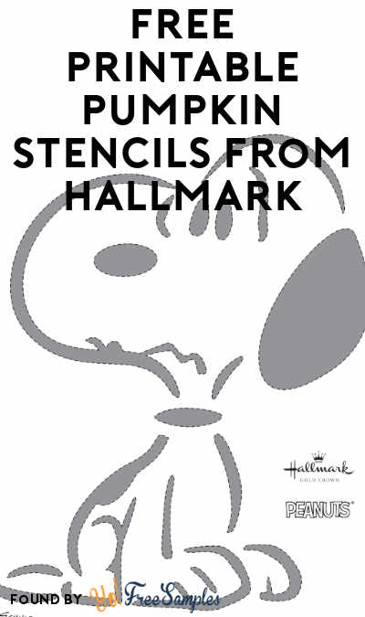 FREE Printable Charlie Brown Pumpkin Stencils From Hallmark