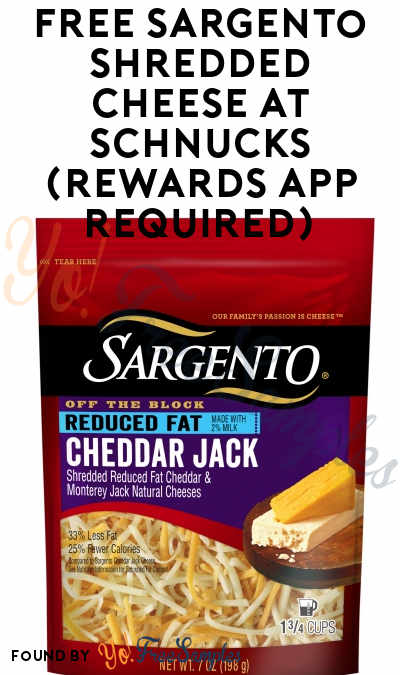 FREE Sargento Shredded Cheese At Schnucks (Rewards App Required)