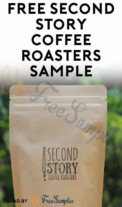FREE Second Story Coffee Roasters Sample