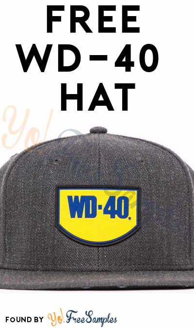 FREE WD-40 Brand Hat (Email Confirmation Required)