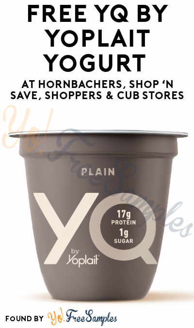 TODAY ONLY: FREE YQ by Yoplait Yogurt At Hornbachers, Shop 'N Save, Shoppers & Cub Stores