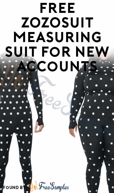FREE ZOZOSUIT Measuring Suit For New Accounts