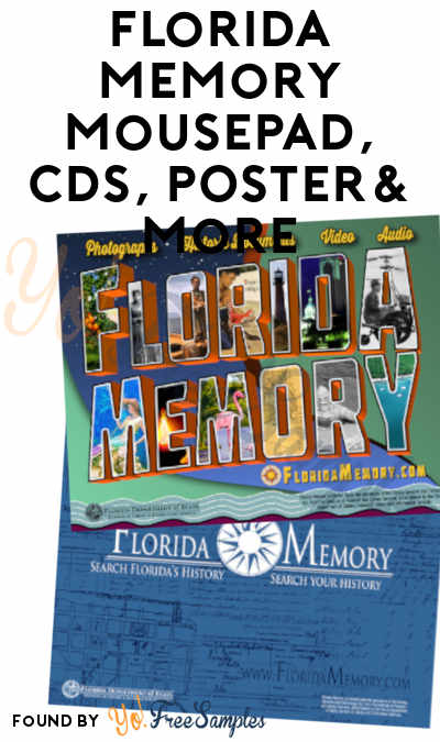 FREE Florida Memory Mousepad, CDs, Posters & More (Email Required)