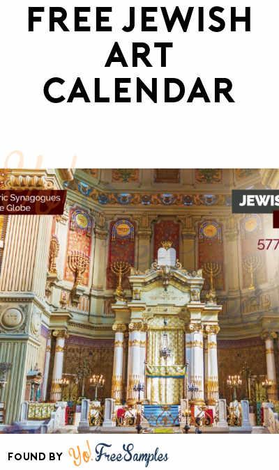 FREE Jewish Art Calendar