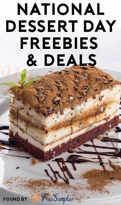National Dessert Day Freebies & Deals 2018