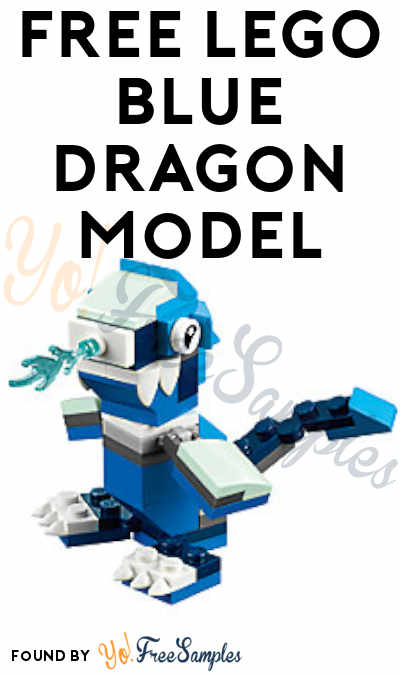 Registration Open: FREE LEGO Blue Dragon Model From Mini Model Build Event November 6th & 7th