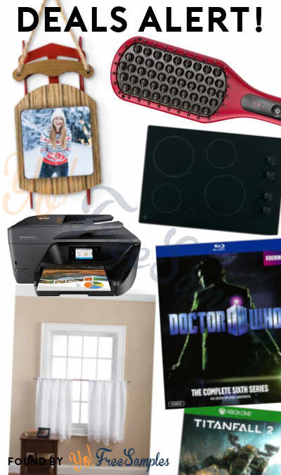 DEALS ALERT: Ornaments, Remington Pro Heated Straightening Brush, 2 Cooktops, Kitchen Curtains & More