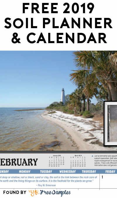 FREE 2019 Soil Planner & Calendar
