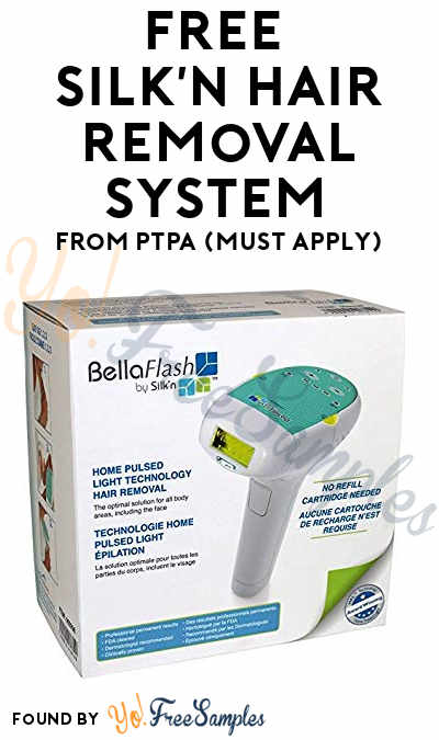 FREE Silk'n Hair Removal System From PTPA (Must Apply)