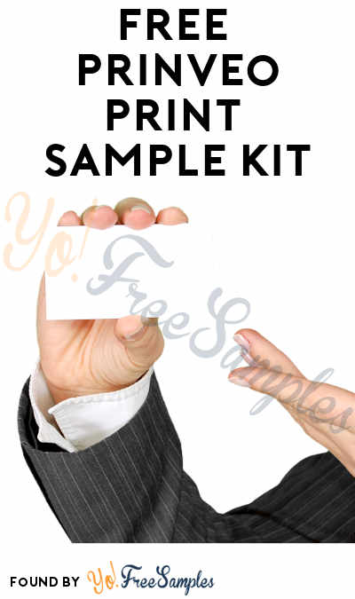 FREE Prinveo Print Sample Kit