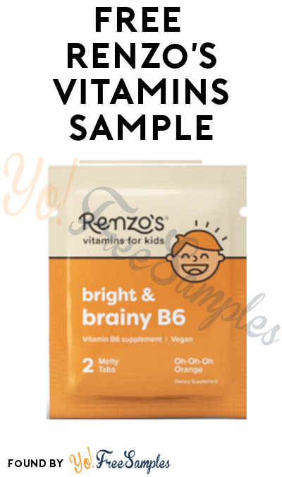 FREE Renzo's Kid Vitamin Sample