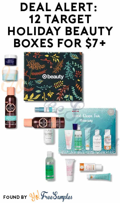 DEAL ALERT: 13 Target Holiday Beauty Boxes For $5-7+ ($30+ Value)