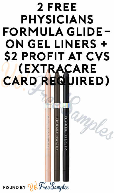 2 FREE Physicians Formula Glide-On Gel Liners + $2 Profit At CVS (ExtraCare Card Required)