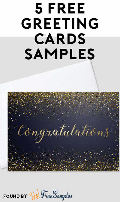 5 FREE Greeting Cards Samples