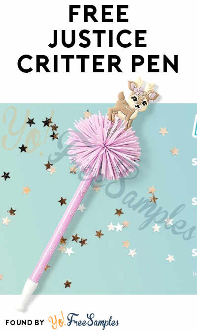 FREE Justice Critter Pen (iOS & In-Store Visit Required)